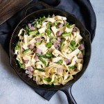 Asparagus and Ham Pasta - Diced Ham Recipe