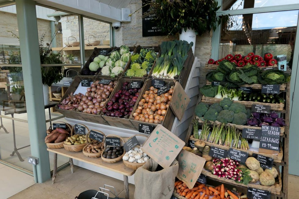 Daylesford Farm Shop + Restaurant - Gloucestershire - Fresh Produce