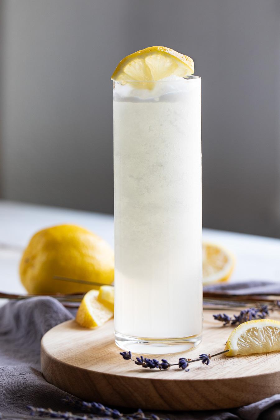 Frozen Lavender Lemonade