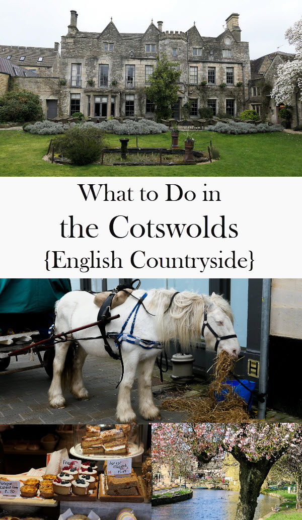 What to Do in the Cotswolds - English Countryside. Where to stay and road trip around the Cotswolds - Bourton on the Water, Gloucestershire, Daylesford. #england #cotswolds #travel #travelblog