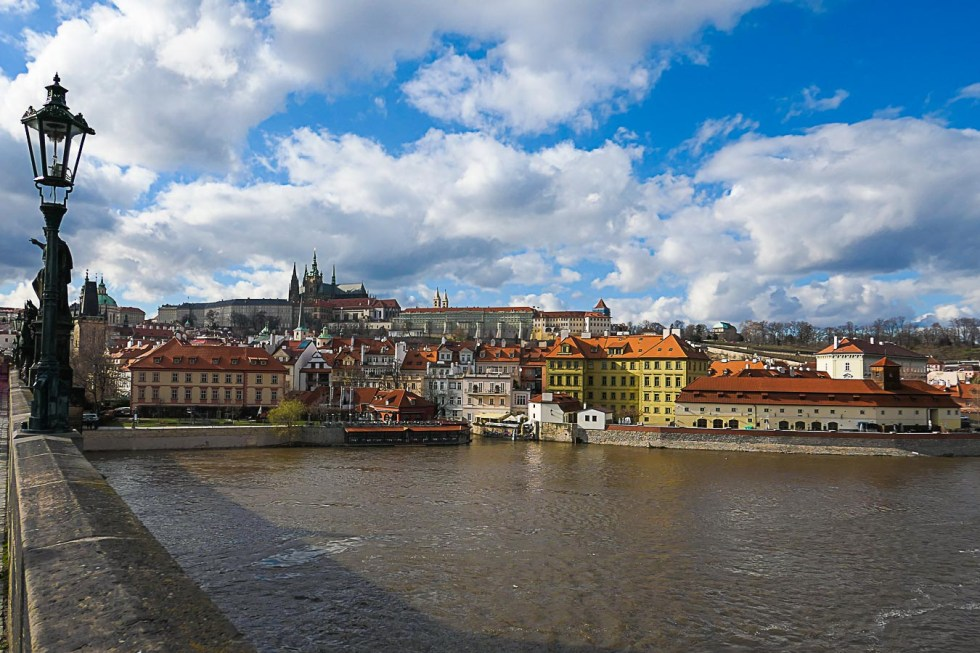 Prague Architecture Photos - View from Charles Bridge