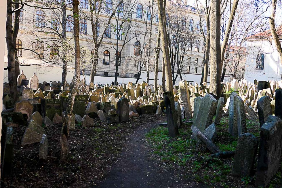 Prague Architecture Photos - Jewish Cemetery
