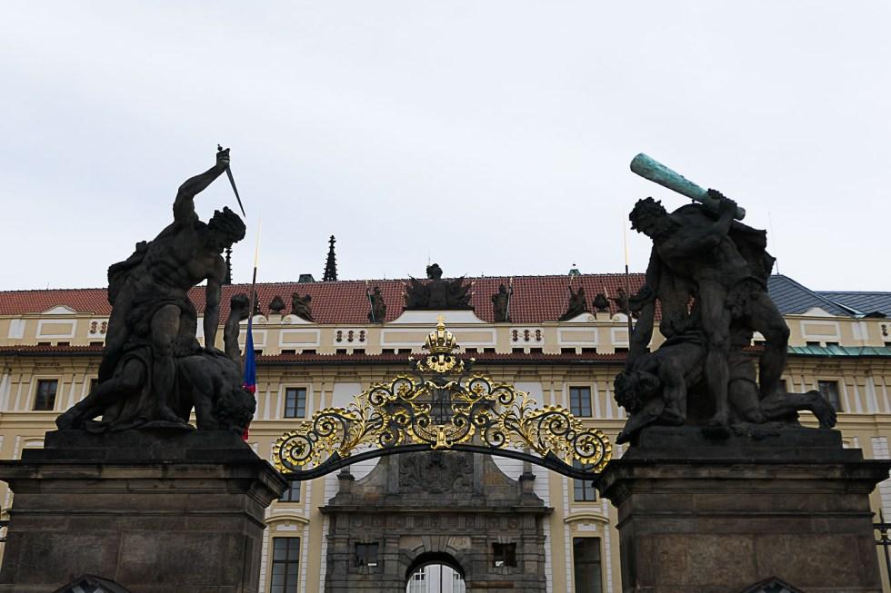 Prague Architecture Photos - Matthias Gate at Prague Castle