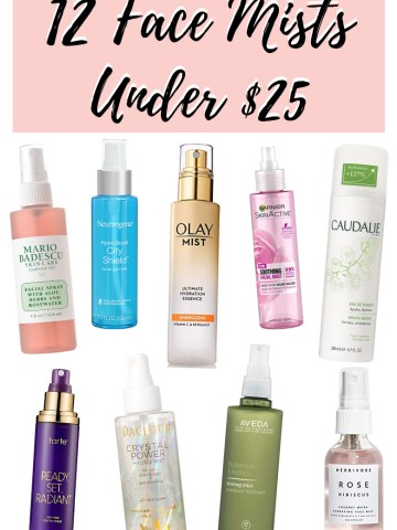 Hydrating Face Mists Under $25