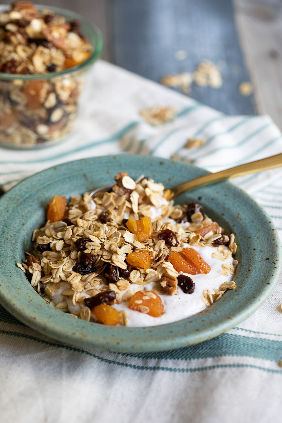 Toasted Muesli with Yogurt
