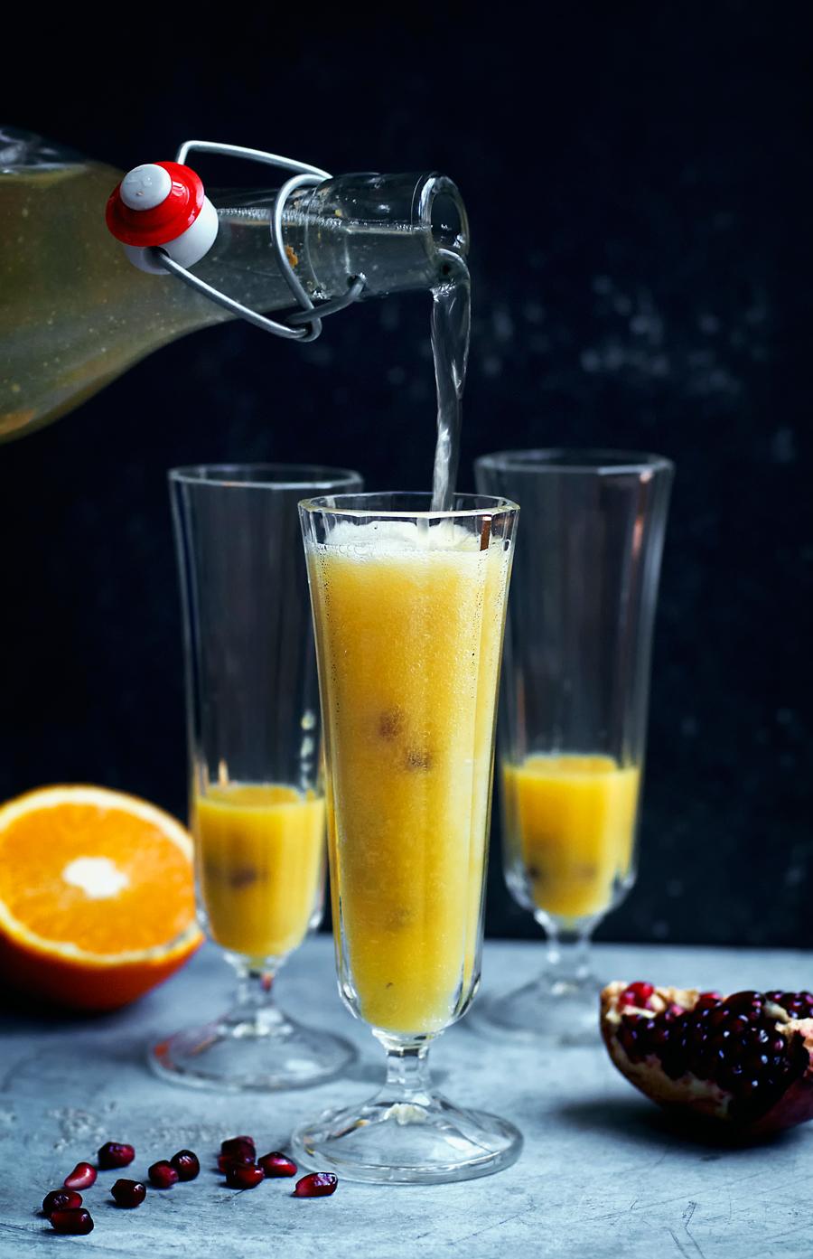 Orange Ginger Beer Sparkler Mocktail Recipe