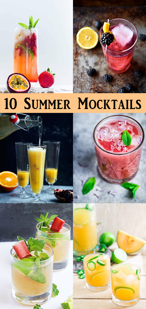 Summer Mocktail Recipes - Pregnancy Mocktails #drinks #mocktails #drink #pregnancy #food #entertaining #recipes