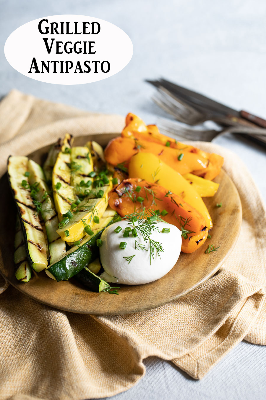 Vegetable Antipasto Recipe with Burrata Appetizer. A delicious summer appetizer or <a href=