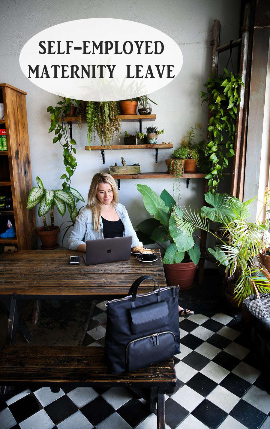 Self-Employed Maternity Leave. See what I'm doing about maternity leave as a blogger and small business owner. #maternity #maternityleave #pregnancy