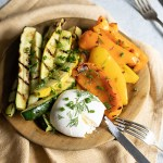 Vegetable Antipasto Recipe with Burrata Appetizer