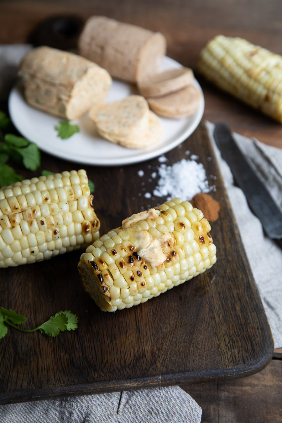 Sweet + Savory Corn Butter Recipes with Melted Butter