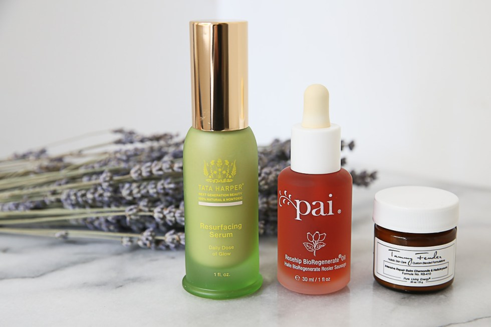 how to get rid of acne scars - clean beauty products