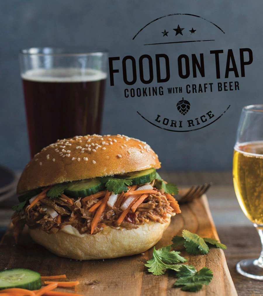 Lori Rice on Food on Tap Cookbook