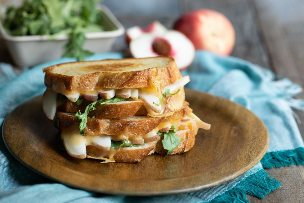 Fruit Grilled Cheese