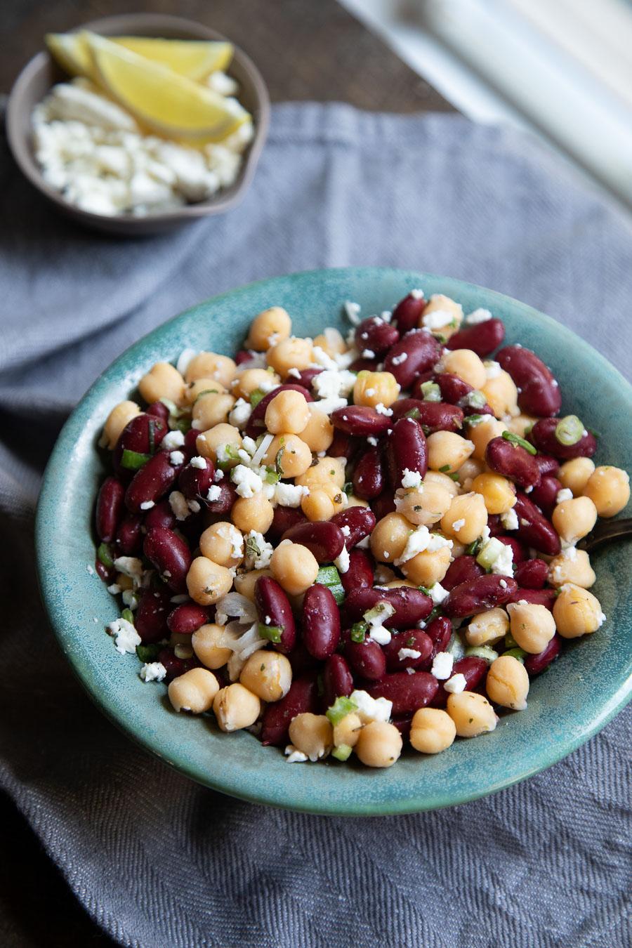 easy bean salad
