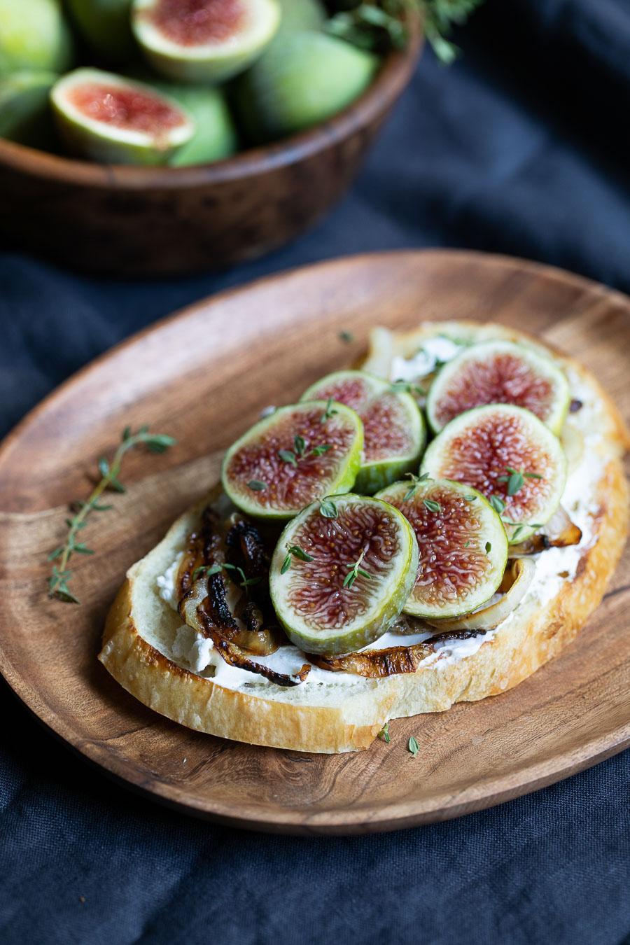 Savory Fig Toast