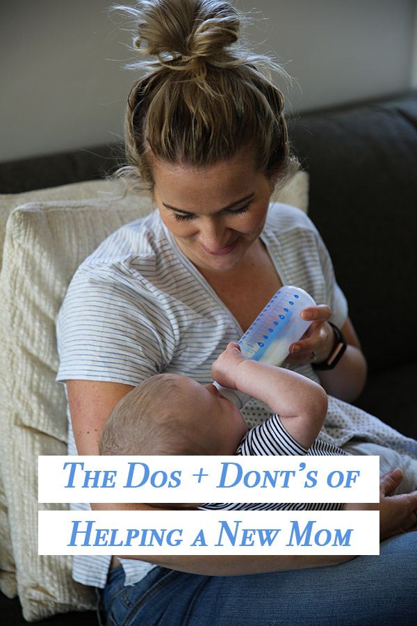 how to help new parents - dos and donts