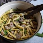 One Pot Sausage Pasta - al fresco Pasta Night Faster