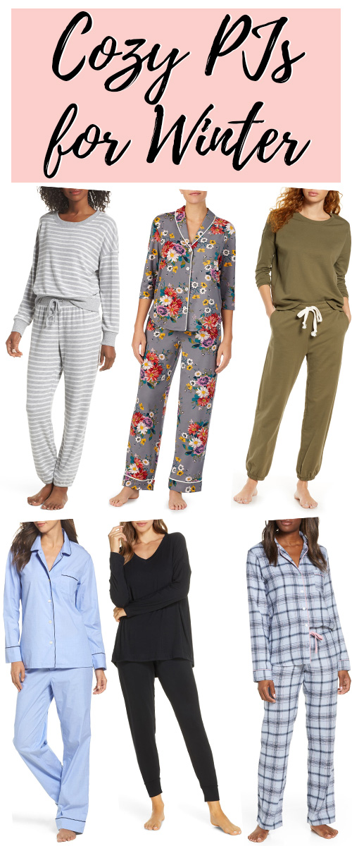 Cozy Pajamas for winter. These pj sets are beautiful, classic, and oh so comfortable.