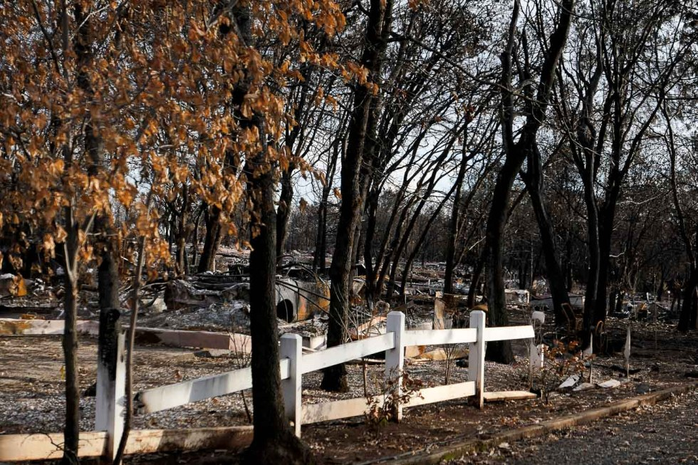 Paradise, CA Camp Fire Aftermath