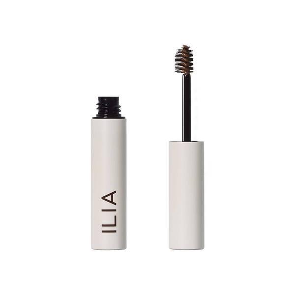 clean makeup brows - ilia brow gel