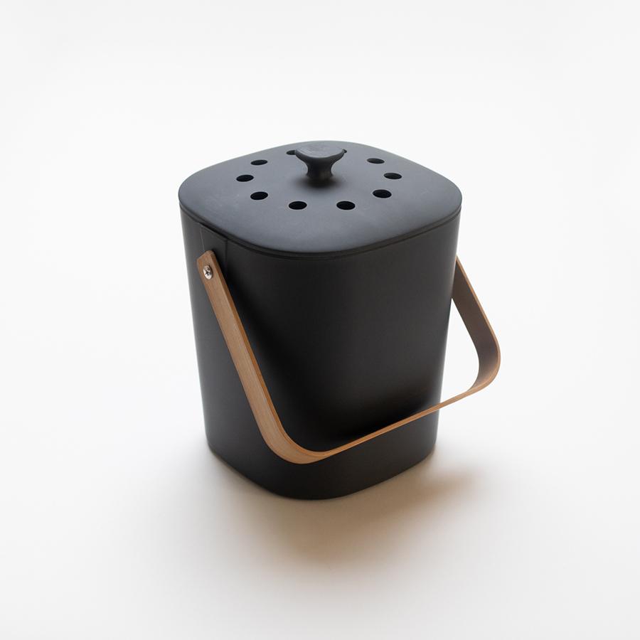 Chic Gardening Accessories - Black Compost Bin
