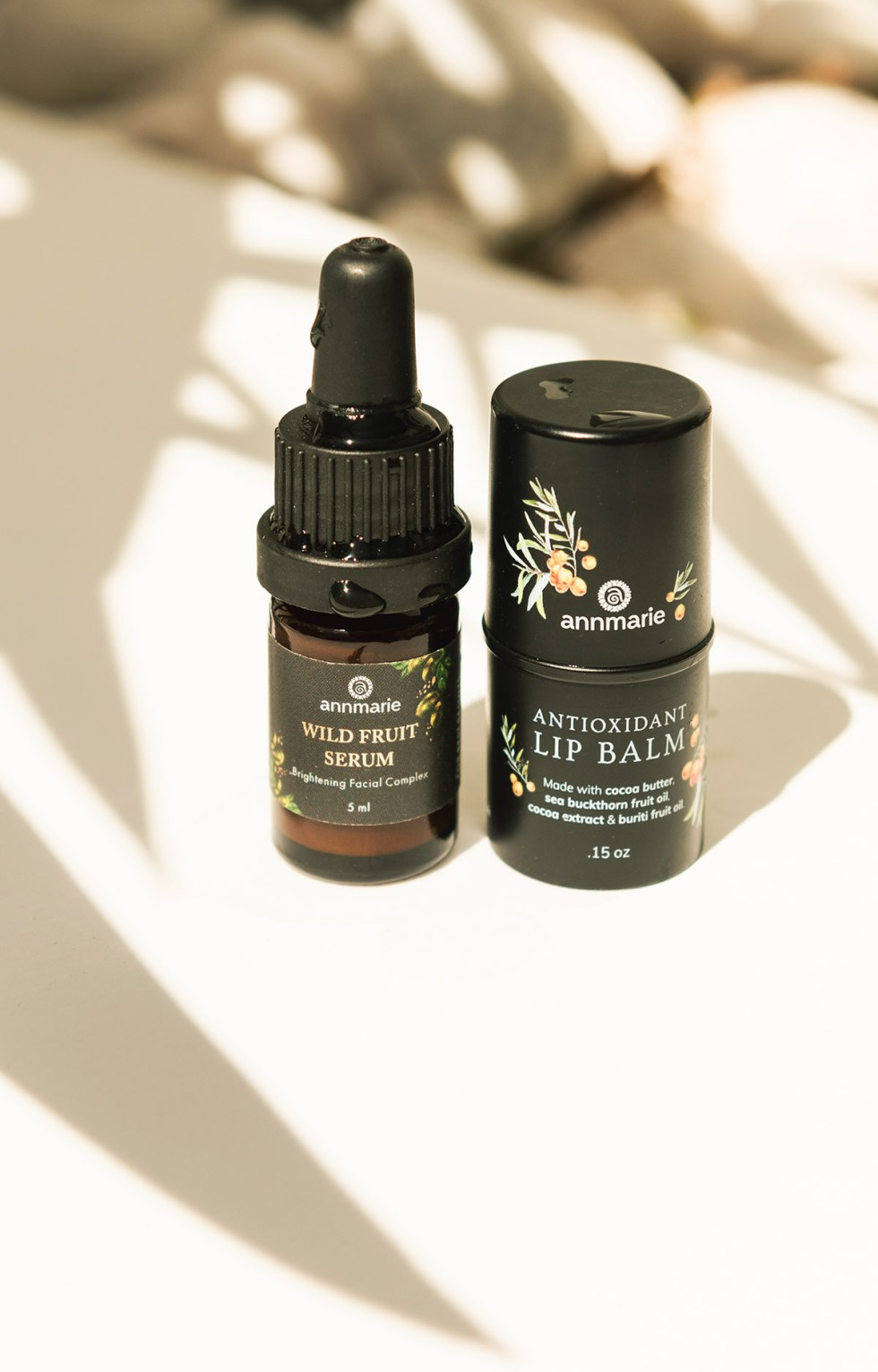 AnnMarie Skincare On White/Shadowed Background
