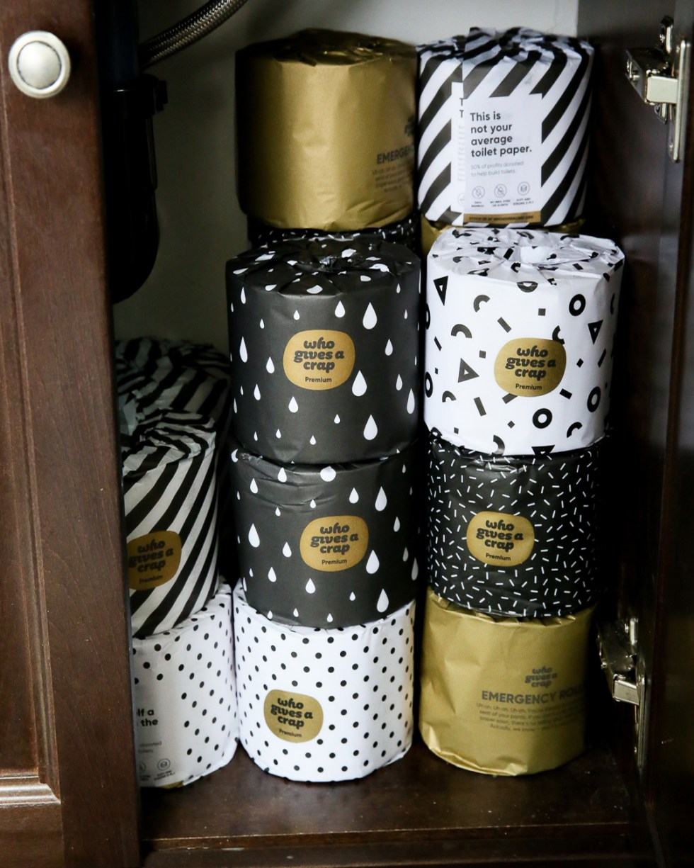 Sustainable Toilet Paper - bamboo