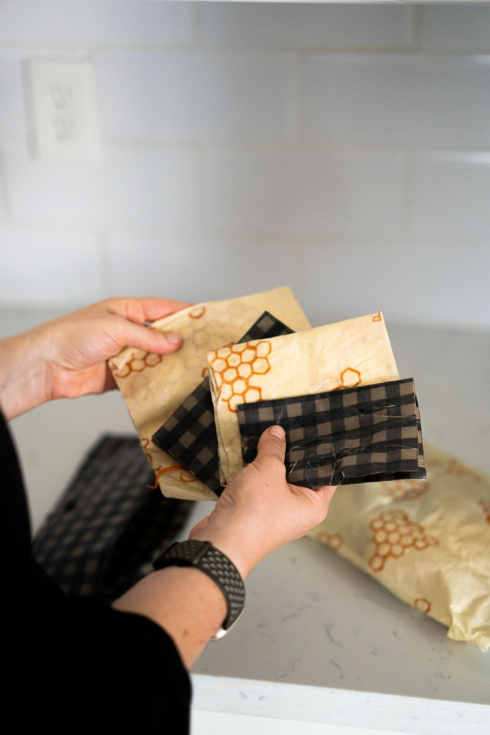 Plastic Wrap Replacements - Beeswax Wrap