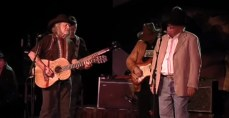 Willie Nelson and Bill Mack
