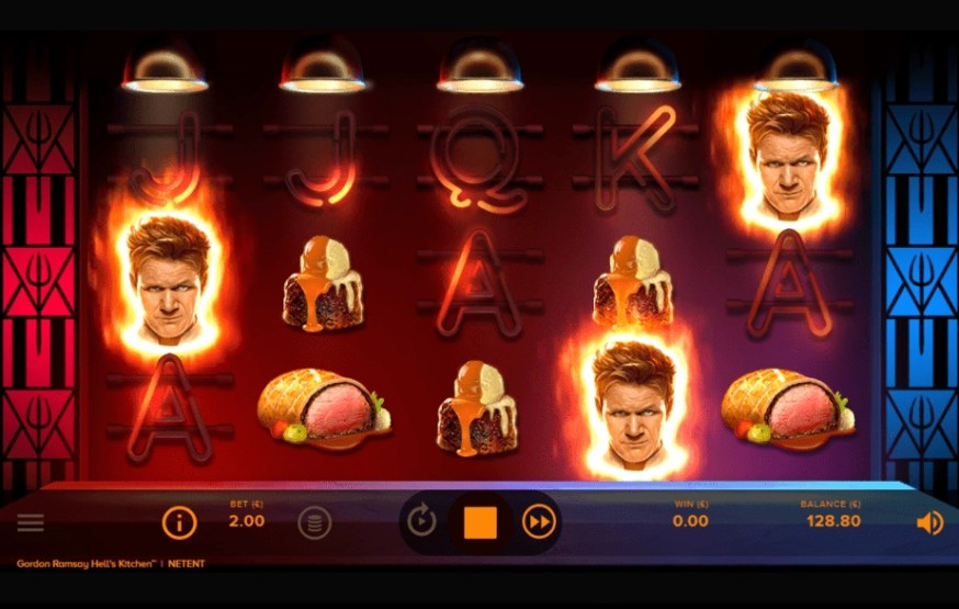 Hell's Kitchen slot scatter