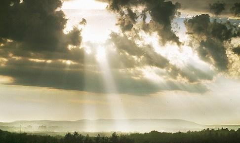雨間の太陽