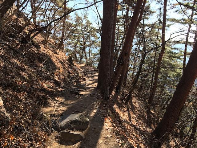 弥三郎岳への道1