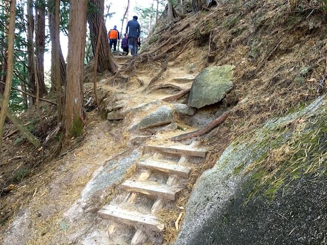 弥三郎岳への道2