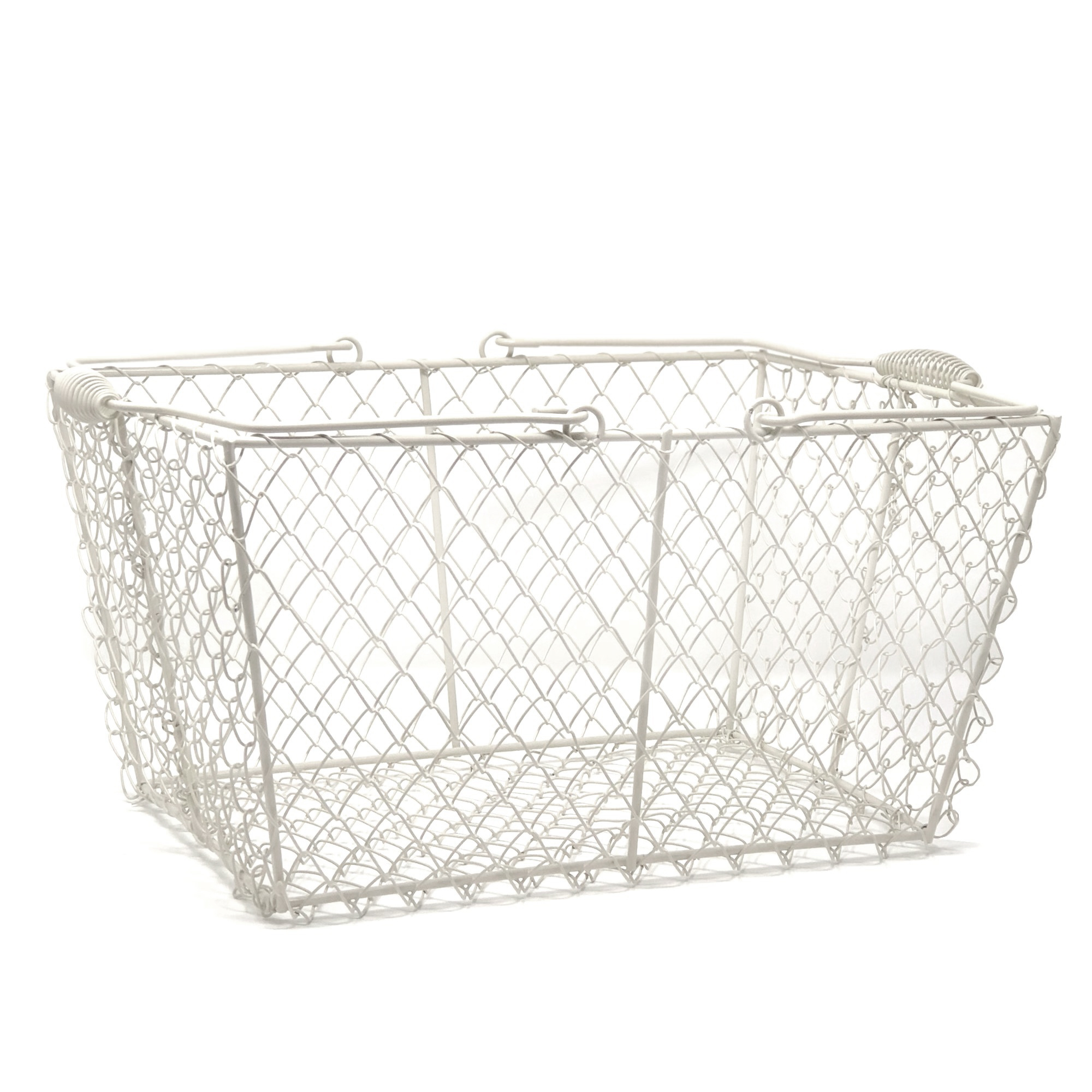 Wire Rectangular Mesh With Swing Handle