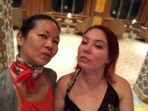 christina aldan tanya butenko selfie
