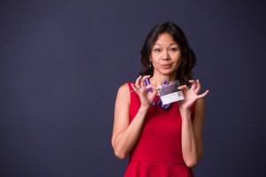 international keynote female speaker christina aldan