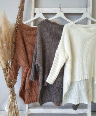 U-Boot-Pullover HANG OUT WITH KNIT – versch. Farben
