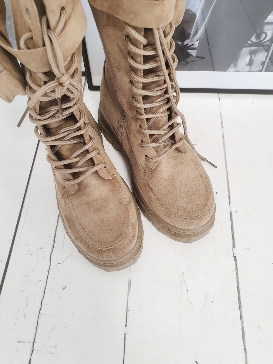 Boots HOLD UP – taupe