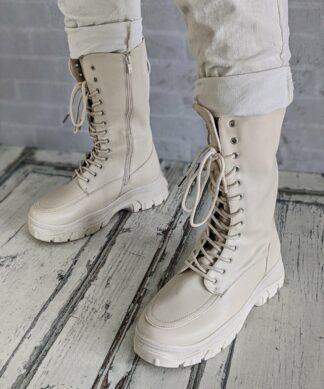 Boots HOLD UP – creme-beige