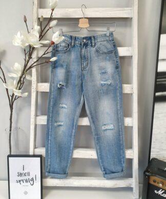 Mom Jeans NADINE – hellblau