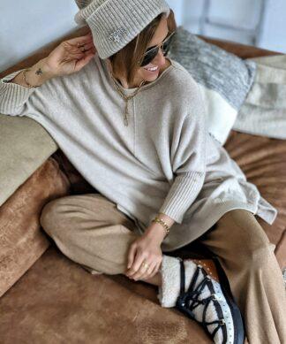 Strickhose WIDE LEG – versch. Farben – SALE