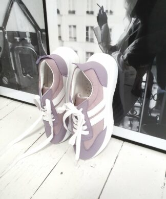 Sneaker ON THE RUN – purple-rose