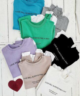 Sweater …ALWAYS FIND A WAY – versch. Farben HOT DEAL