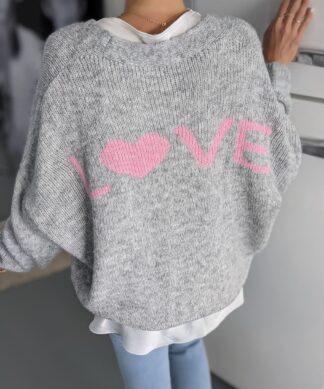Cardigan LOVE 2.0 – versch. Farben