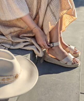 Sandale BEACH WALK – beige