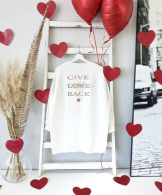langer Sweater IT´S LOVE – VALENTINES-SPECIAL