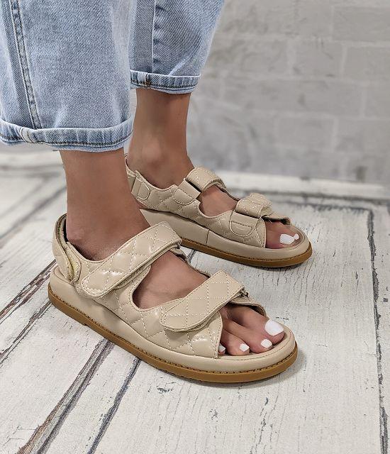 Sandale Waffle – beige