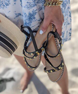 Sandale MIAMI-schwarz