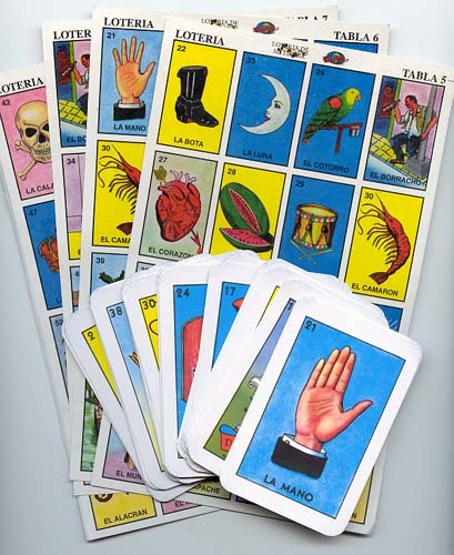 graphic regarding Loteria Cards Printable known as A Refreshing Mexican Tarot For The Revolutionary Age: John Picacios